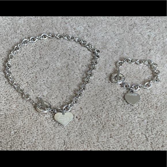 bef9af39b Return to Tiffany & Co 925 Necklace & Bracelet. M_5c460b809fe486bced3366a6